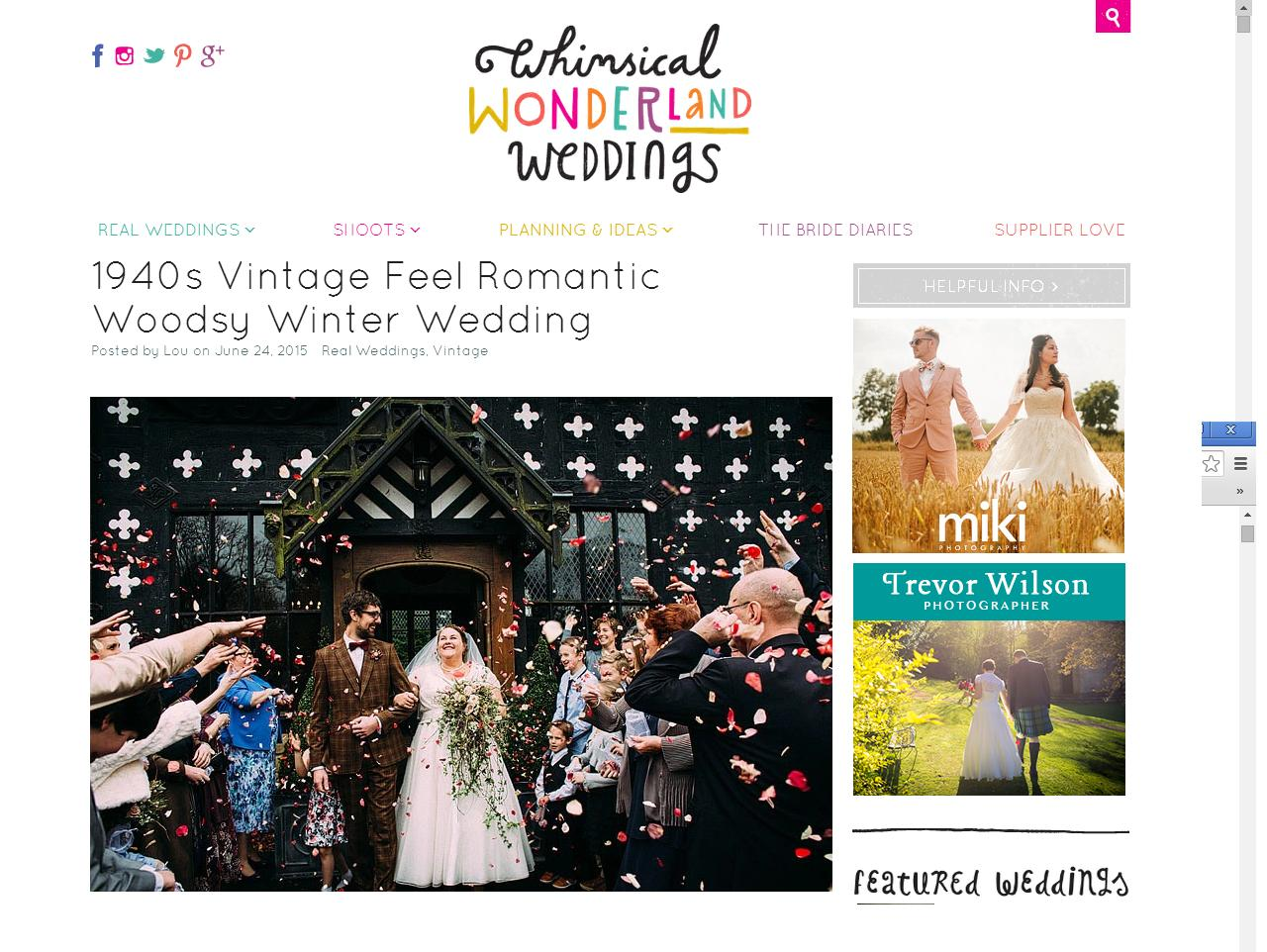 Whimsical Wonderful Weddings