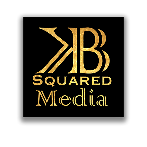 4C - KB Squared Media Black & Gold LOGO.