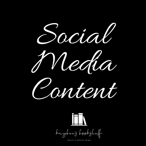 Social Media Content Packet