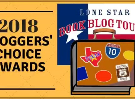 2018 Lone Star Blog Tour Winners