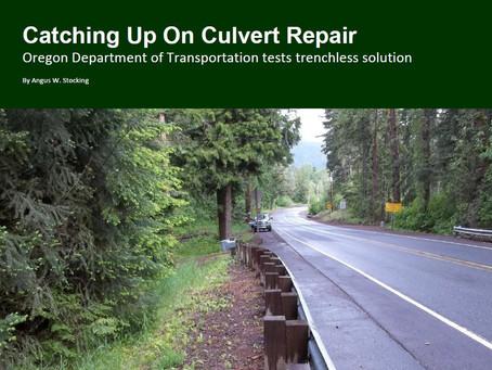 Catching Up On Culvert Repair