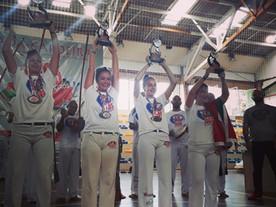Equipe do Projeto Capoeira e Cidadania é destaque nos Jogos Sul-Brasileiros de Capoeira 2019
