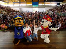 Recorde de participação no Dia das Crianças na AV