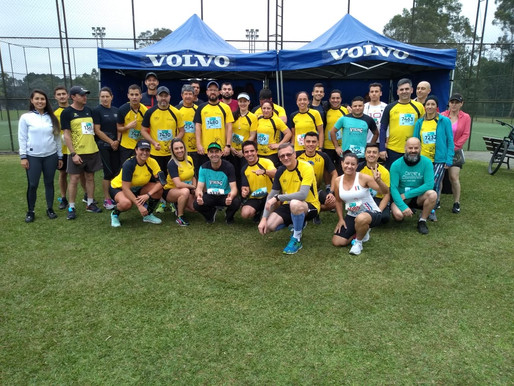 Final de semana com o Viking Runners