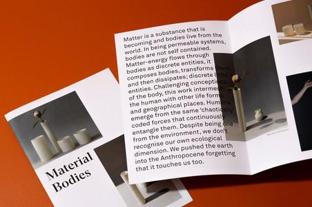 Material Bodies, publication, 2018.