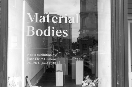 Material Bodies at New Glasgow Society, August 2018.