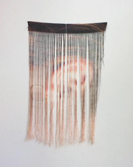Bitrot - Eerie Wig, silk, 2019