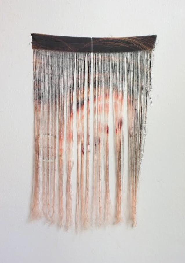 EerieWig, silk, 2019