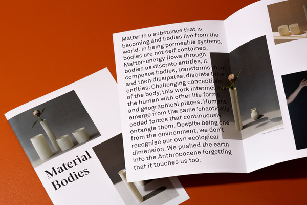 Material Bodies - exhibition catelogue