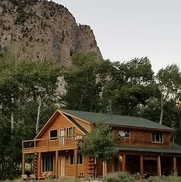 Log Home for rent, Nathrop CO