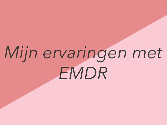 Mijn ervaringen met EMDR