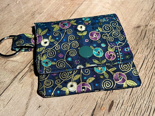 Earbud / Pick Pouch (Teal and Purple)