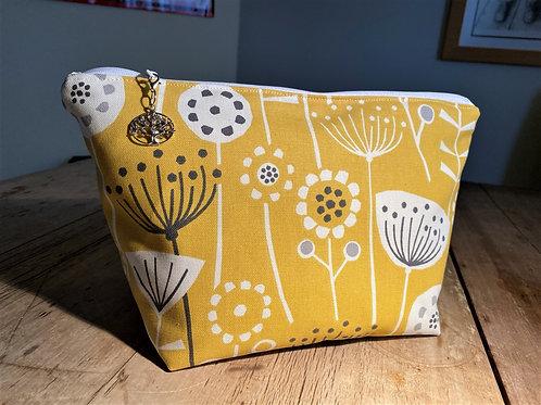 Yellow Seed Pod Wash Bag