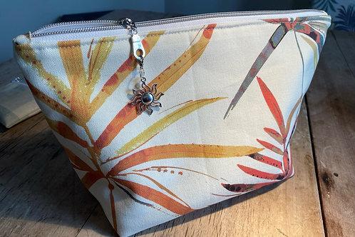 Tropical Print Classic Wash Bag