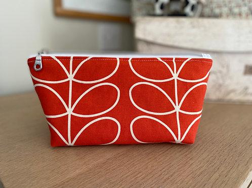 Make-up bag in fabulous Orla Keily design fabric