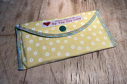 Soft Padded Cotton Wallet