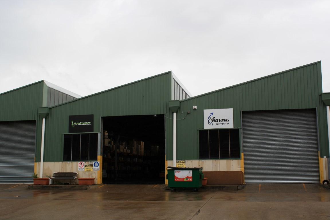 Facility Entrance and Loading Zone