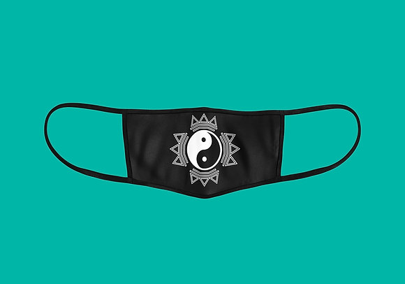 Instant Peace Symbol Face Mask