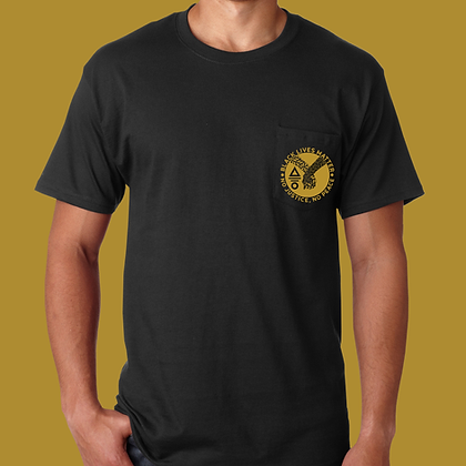 BLACK LIVES MATTER: Pocket Tee