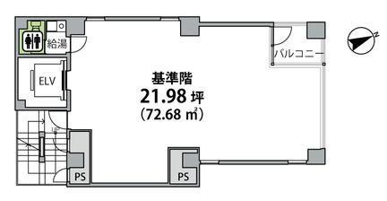 日比谷パークビル基準階平面図.png