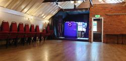 Function room stage