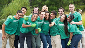 Refer to government information on how to get involved and volunteer in a way that suits you.