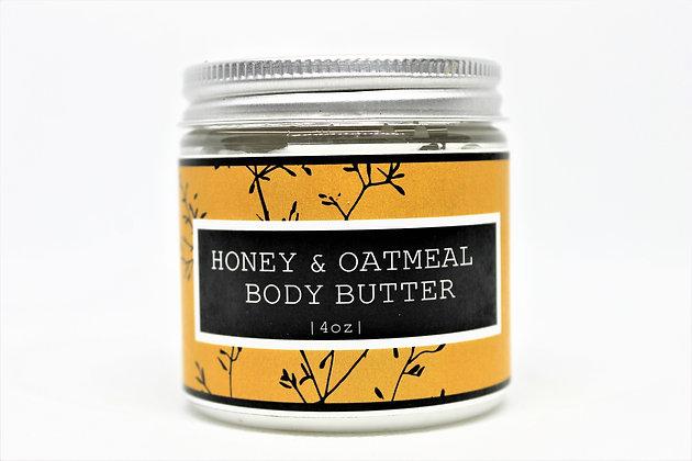 Honey & Oatmeal Body Butter
