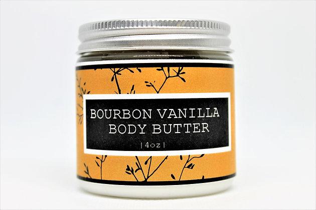 Bourbon Vanilla Body Butter