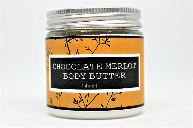 Chocolate Merlot Body Butter