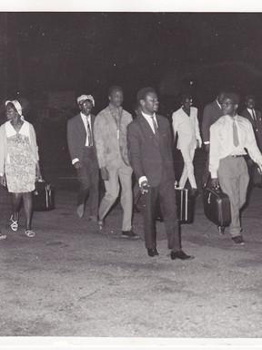 Arrivée à Dakar dans la nuit du 10 avril 1969.