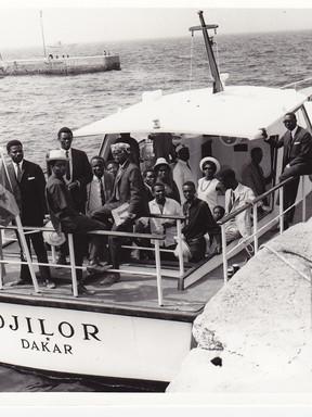 Départ pour l'Île de Gorée.