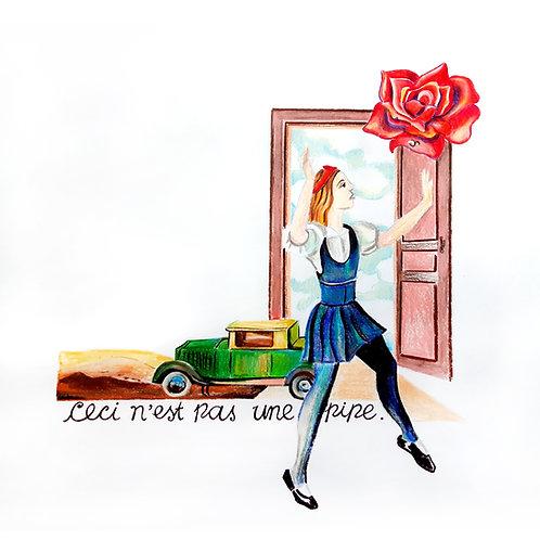 Esto no es una rosa