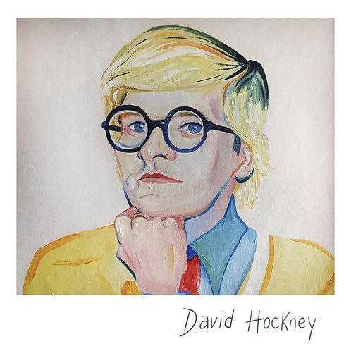 Retrato de David Hockney