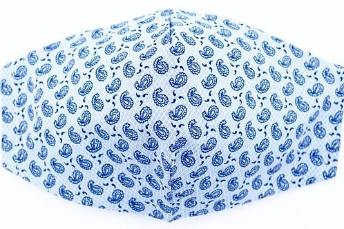 Mascarilla Litte Cachemir Azul