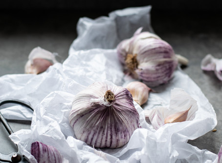 GARLIC. WHY GROW YOUR OWN.