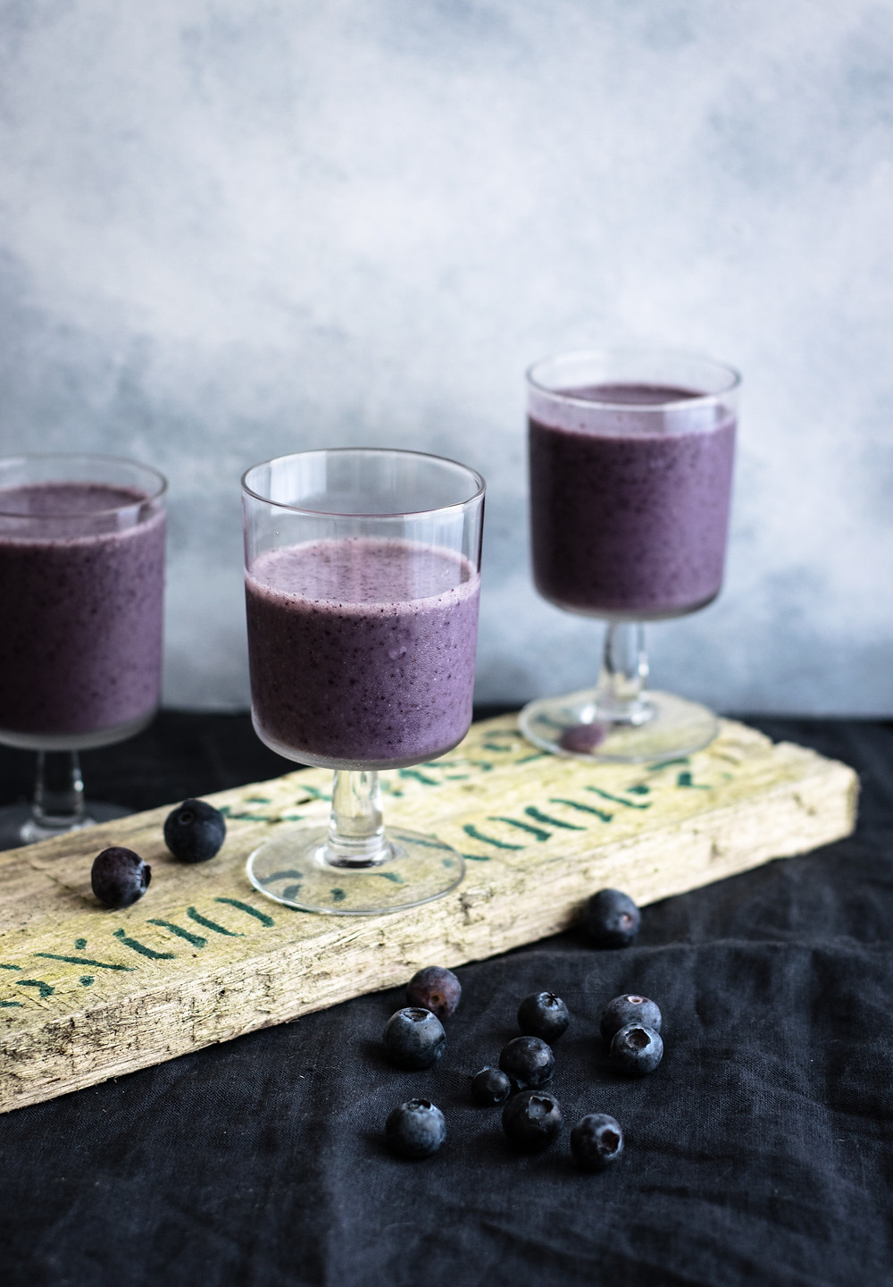 Food photography, bluberry, bluberry shake,