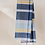 Thumbnail: Lambswool Kids Scarf | Dusky Pink and Navy Multi Check