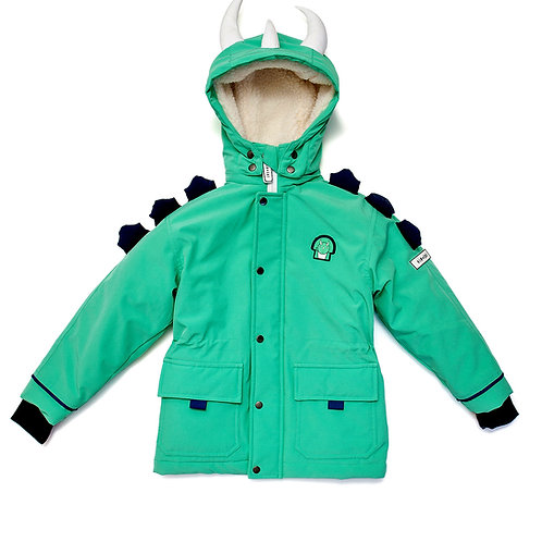 Spike the Dino│All weather coat