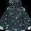 Thumbnail: EcoSplash Fleece Lined Jacket - Cosmic
