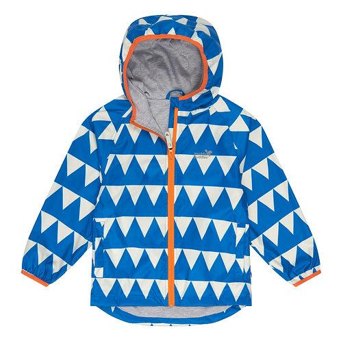 Ecolight Rain Jacket │ Blue Triangles