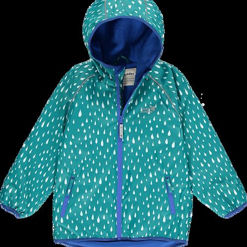 EcoSplash Fleece Lined Jacket - Quetzal Raindrop