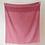 Thumbnail: Lambswool Baby Blanket | Rose