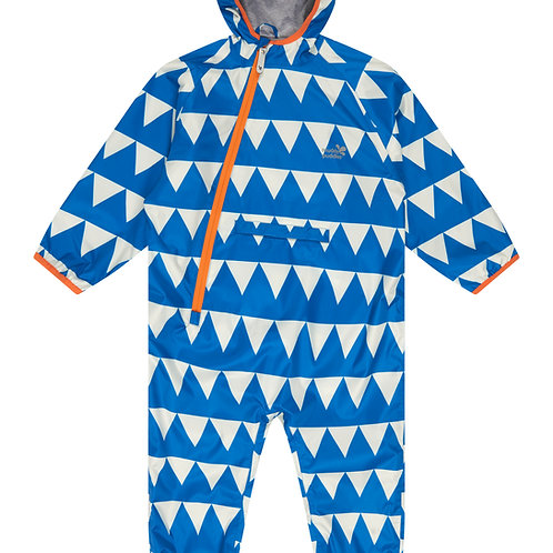 Ecolight Puddle Suit │ Blue Triangles