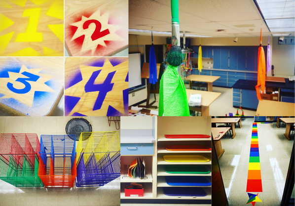 Color-Coded Classroom
