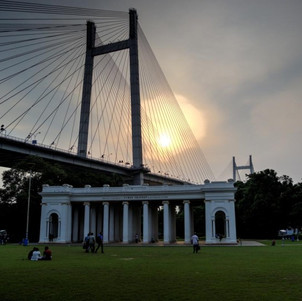 On a Boat Ride from Prinsep Ghat