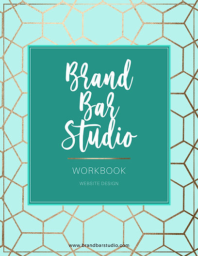 Branding Bar Website Design Booklet Cove