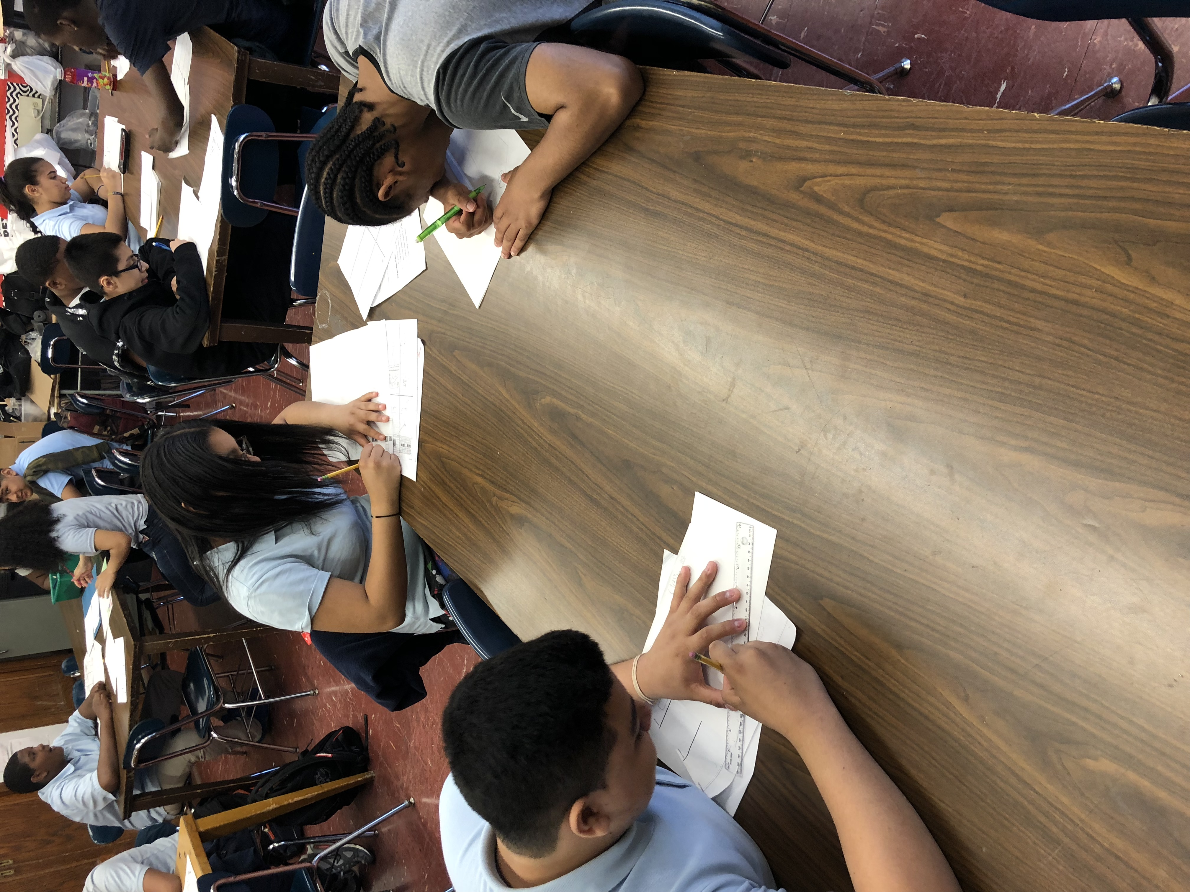 Students Designing their Campaigns