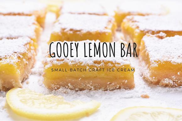 Gooey Lemon Bar