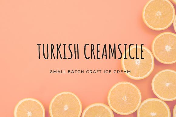 Turkish Creamsicle