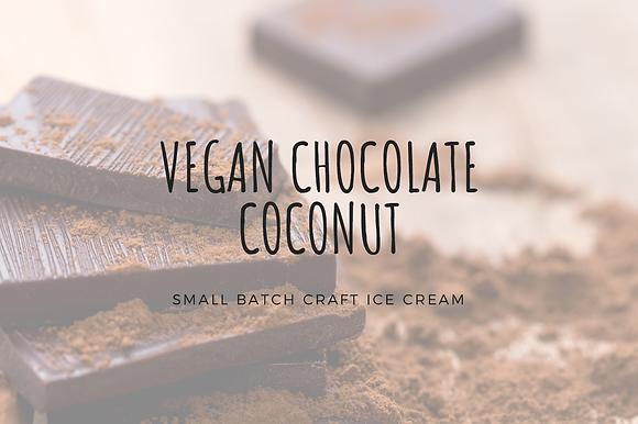 VEGAN Chocolate Coconut